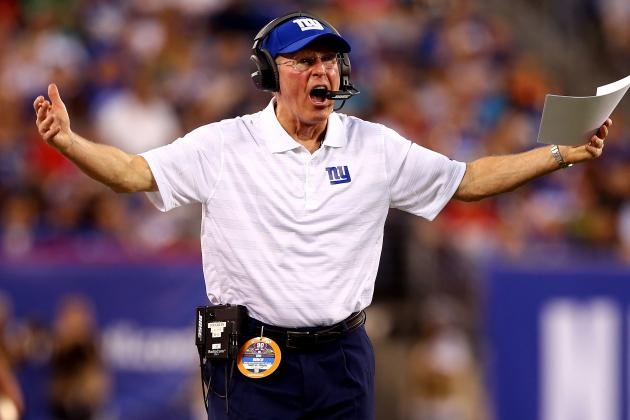 Penalties Irk Giants Coach Tom Coughlin