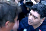Soccer Legend Maradona Gives Journalist a Slap