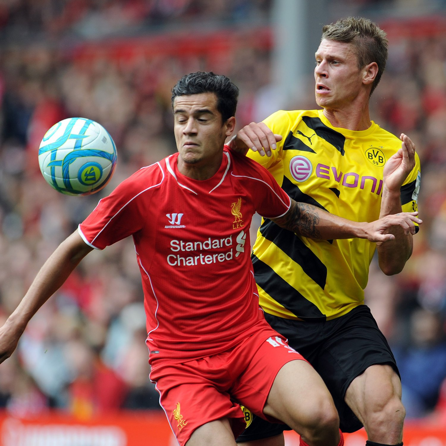 Liverpool 4 0 Borussia Dortmund Match Report Philippe: Philippe Coutinho And Co. Prove Liverpool In Good Shape