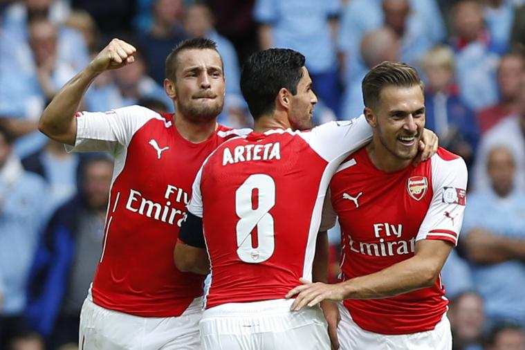 Arsenal vs. Manchester City: Goals from the Community Shield at Wembley