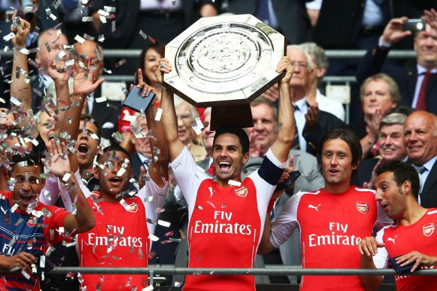 Mikel Arteta and Per Mertesacker Named Arsenal Captains