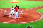 Bryce Harper Defaces Braves' Logo