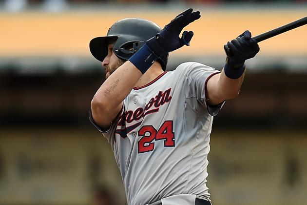 Trevor Plouffe Day-to-Day After X-Rays on His Foot Negative