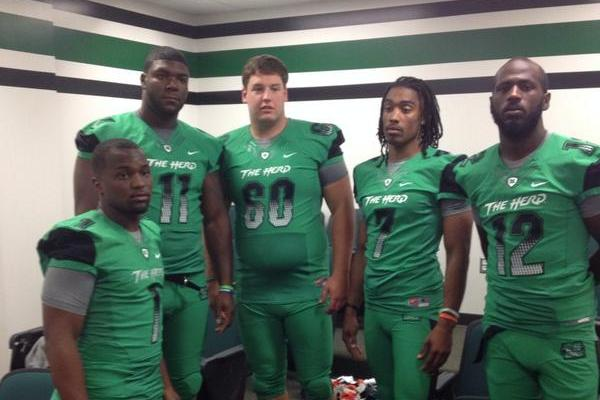 Photo: Marshall Unveils Very Green New Uniforms