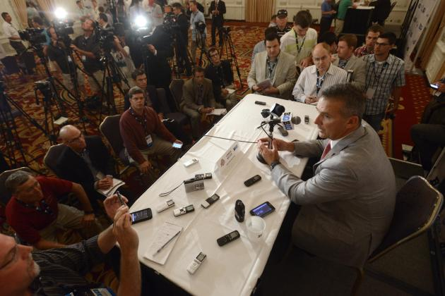 Ohio  State Football: Sights and Sounds from Buckeyes Media Day