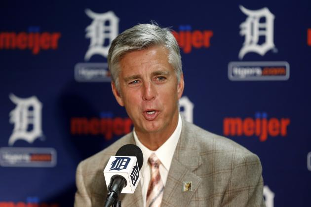 Dave Dombrowski Not Concerned with Detroit Tigers' Lack of Offense