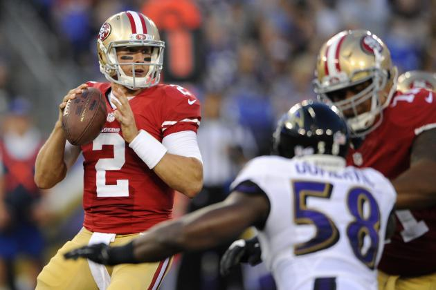 San Francisco 49ers: Breaking Down Blaine Gabbert's Disastrous Debut