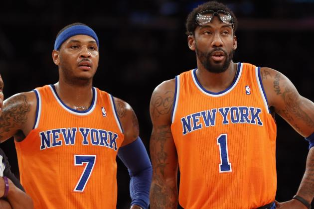 How NY Knicks Can Make Misshapen Front Line Fit the Triangle Offense