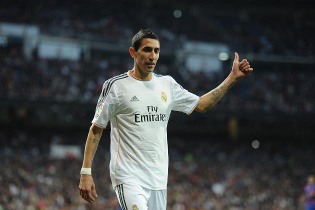 How Real Madrid Would Replace Manchester United Transfer Target Angel Di Maria