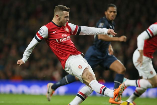 Jack Wilshere Faces a Tough Season to Even Get in the Arsenal Team