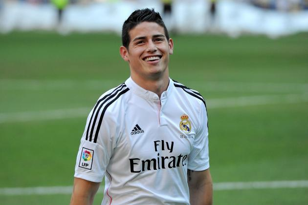 James Rodriguez, Cristiano Ronaldo Named in Real Madrid Squad for Super Cup Tie