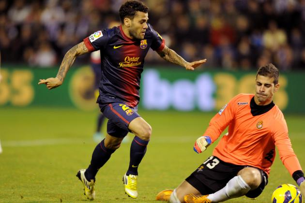 Dani Alves' Barcelona Career in Doubt as Juan Cuadrado Chase Heats Up
