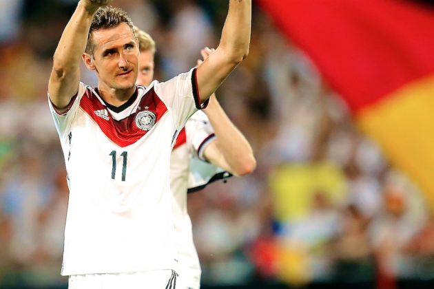 Miroslav Klose Announces Retirement from Germany International Side