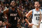 LeBron 'Very Excited' to Have Kevin Love