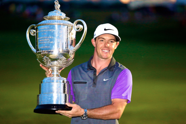 Rory McIlroy Appears Right on Track to Match Tiger and Jack