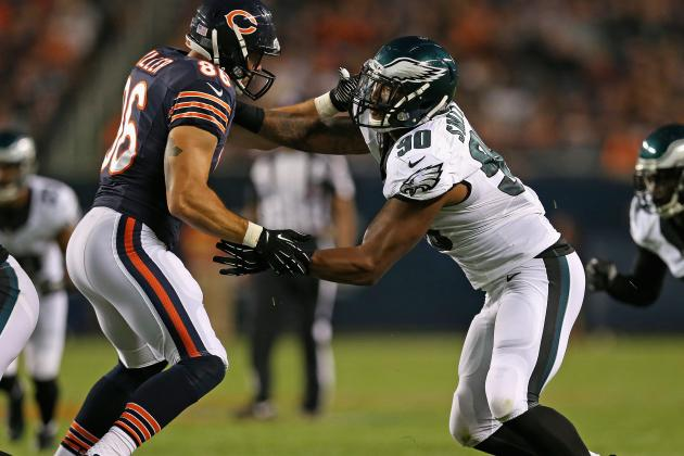 Eagles 1st-Round Pick Marcus Smith Flashes Potential, Still a Work in Progress
