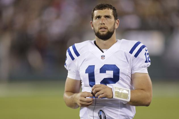 Andrew Luck Gives Colts Historic Edge on Playoff Berth
