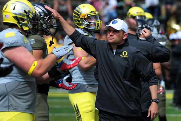 Breaking Down Oregon's Latest Depth-Chart Moves Midway Through Fall Camp