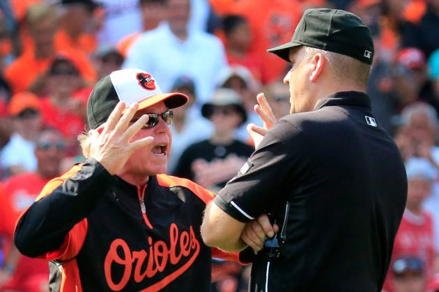 Buck Showalter Wanted to Speak to Replay Officials After Overturned Call