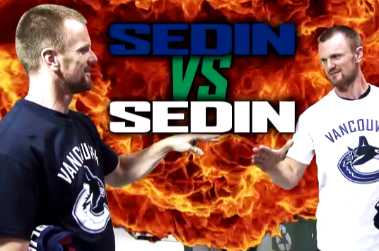 Video: Sedin vs. Sedin, 3 Decades in the Making