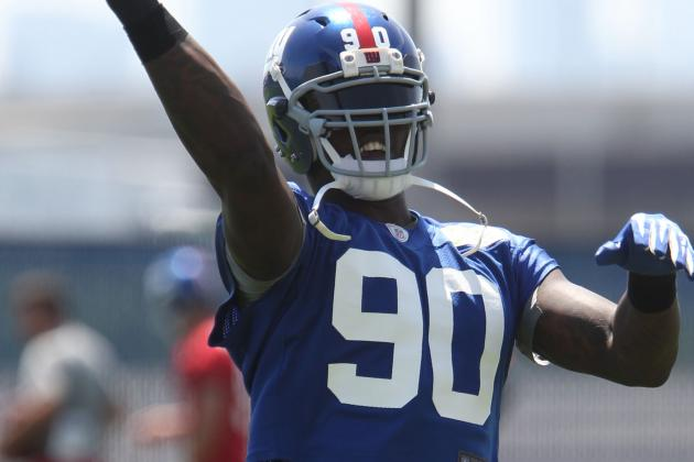 Giants DE Jason Pierre-Paul Says He Can Do Better Than 16.5-Sack Season
