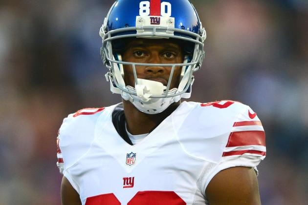 Victor Cruz Not Worried by Lack of Catches
