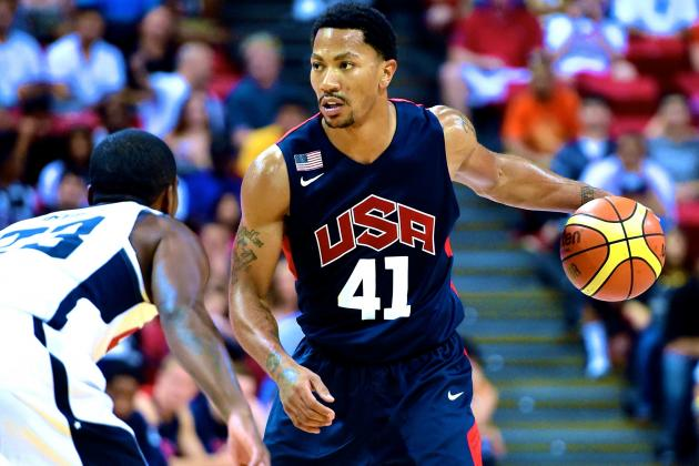 Kevin Durant's Team USA Withdrawal Provides Golden Opportunity for Derrick Rose
