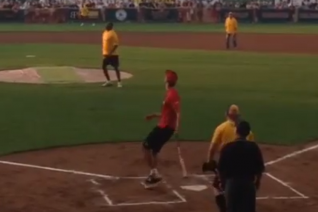 VIDEO: Michael Carter-Williams Hits a Home Run Against Magic Johnson