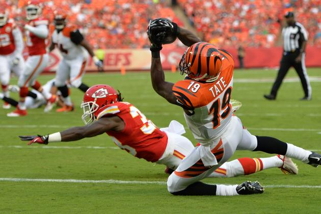 Is Bengals' Brandon Tate Feeling the Heat?