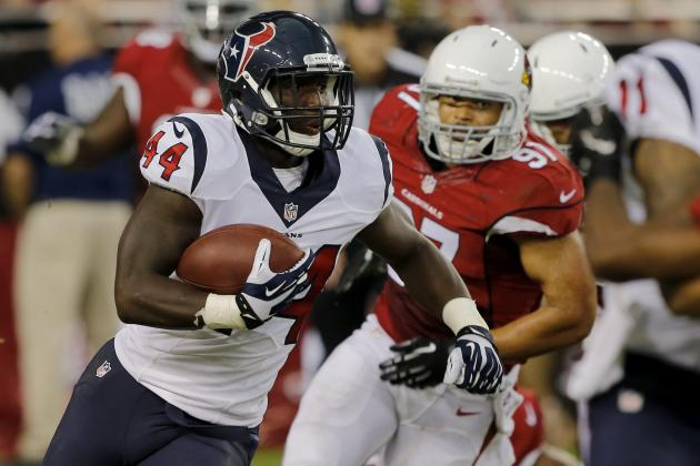 Jonathan Grimes vs. Alfred Blue: Updates on Texans RB Battle