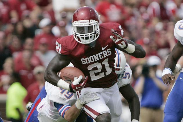 Oklahoma Football Notebook: Keith Ford Working on Ball Security