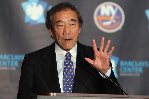 Islanders Owner Charles Wang Sued for Allegedly Backing out of Deal to Sell Team