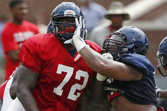 Ole Miss Gets Defensive at Scrimmage