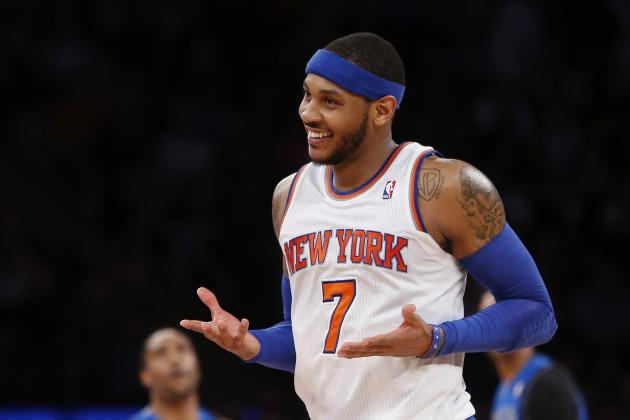 How Long Will Carmelo Anthony Remain Patient with New York Knicks' Plan?