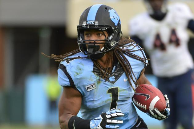 UNC Running Backs Shouldering Load