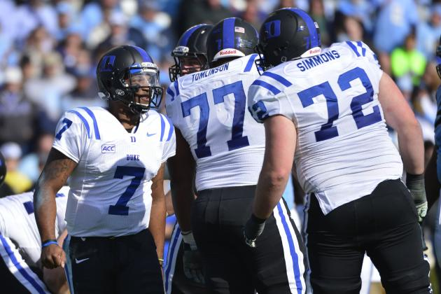 Duke Seeks New Right Tackle