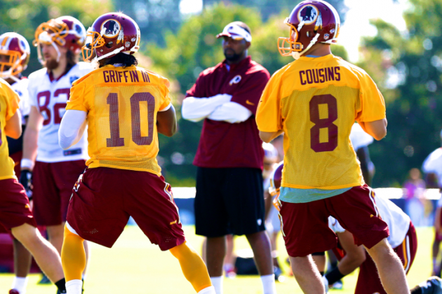 No Matter What Cousins, Griffin Do, There'll Be No QB Controversy in Washington