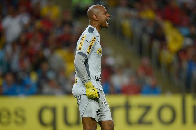 Could Jefferson Be First Black Goalkeeper to Win World Cup with Brazil?