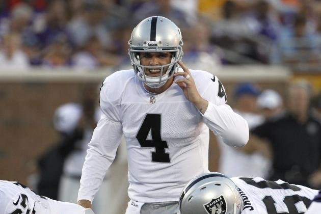 Derek Carr Must Outperform Matt Schaub Before Raiders Consider QB Switch