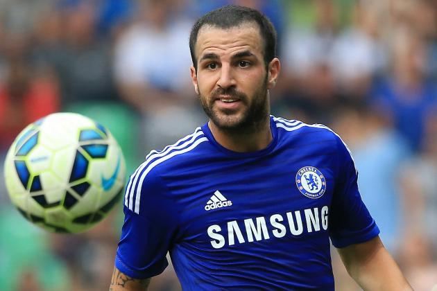 Cesc Fabregas: 'I Want to Win Everything with Chelsea'