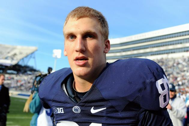 Penn State TE Dealing with Left Knee Injury That Will Likely Require Surgery