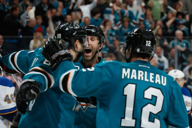 Now Thornton and Marleau Are 'part of the Solution' in San Jose
