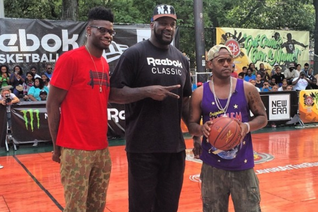 Nerlens Noel Wore Some Aggressive Skinny Pants to Rucker Park