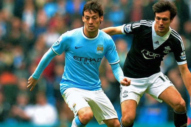 David Silva and Manchester City Agree on 5-Year Contract Extension