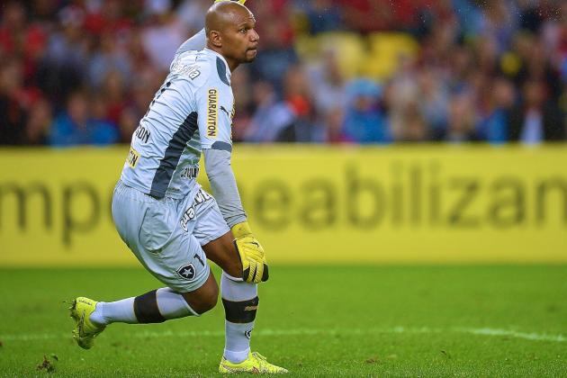 Could Jefferson Be 1st Black Goalkeeper to Win World Cup with Brazil?