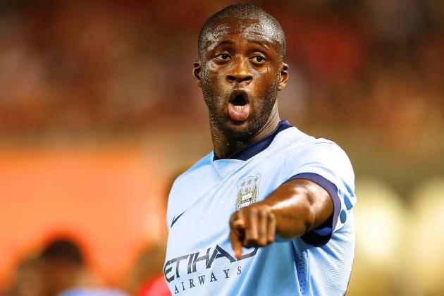 Projecting Manuel Pellegrini's Best Manchester City Lineup as EPL Season Opens