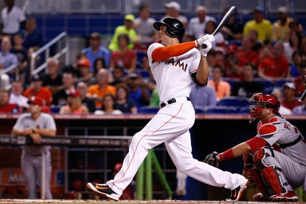 Marlins' Giancarlo Stanton Sets Franchise Record for Multi-Homer Games