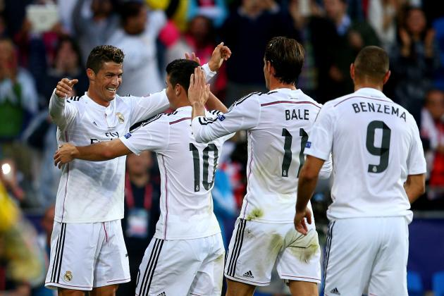 Cristiano Ronaldo and Gareth Bale Fire Early Warning to Real Madrid Rivals