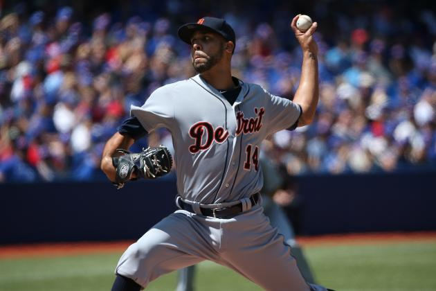 Tigers' David Price 1st in Majors to Reach 200 Strikeouts in 2014