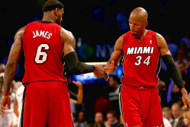 Breaking Down What Makes Ray Allen a Great Pairing with LeBron James